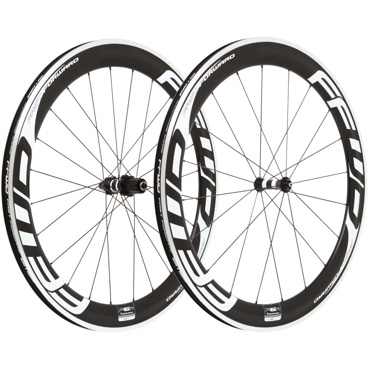 Fast Forward Carbon F6R Clincher 60mm SP Wheelset - Ruedas de competición