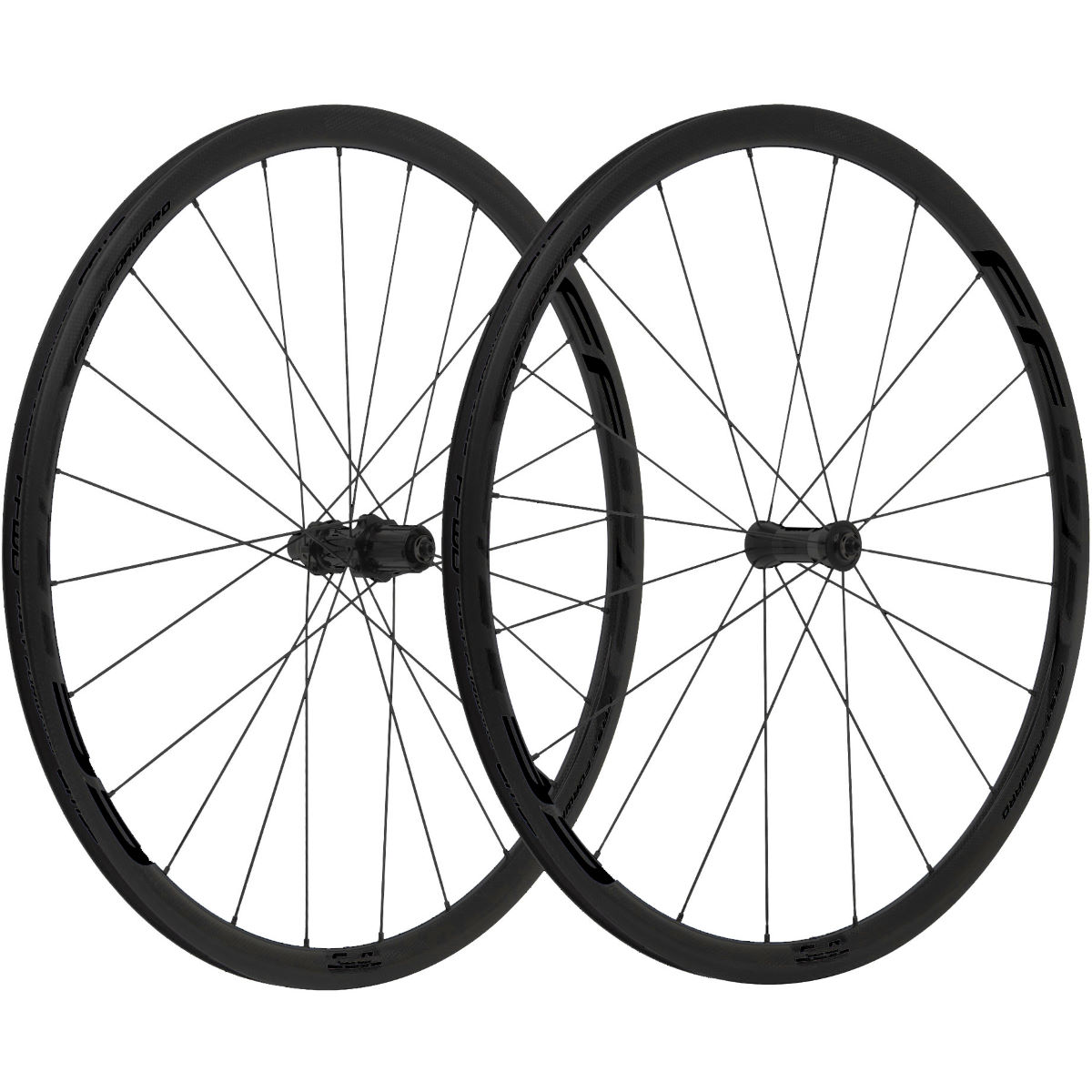 Fast Forward Carbon F3R FCC 30mm SP Wheelset - Ruedas de competición