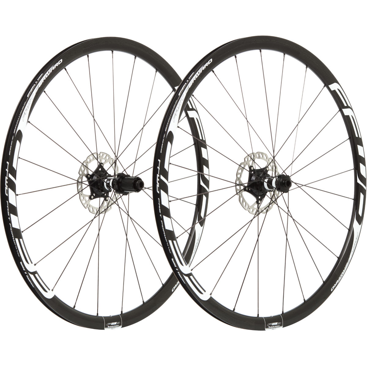 Fast Forward Carbon F3D FCC 30mm SP DB Wheelset - Juegos de ruedas