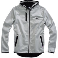 100% Mission Hooded Softshell Zip Jacket