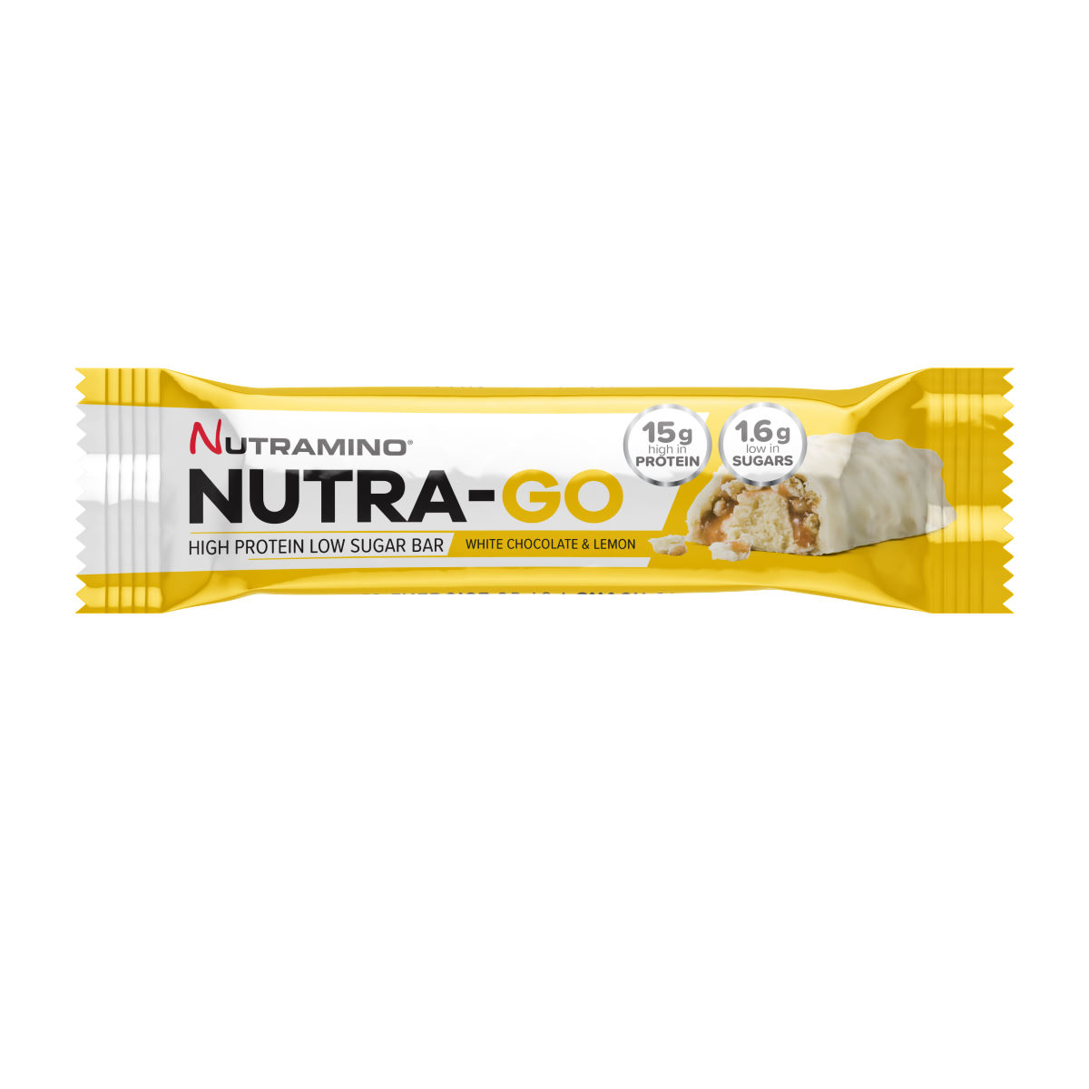 Nutramino Low Sugar Protein Bars (15 x 48g) - Barritas