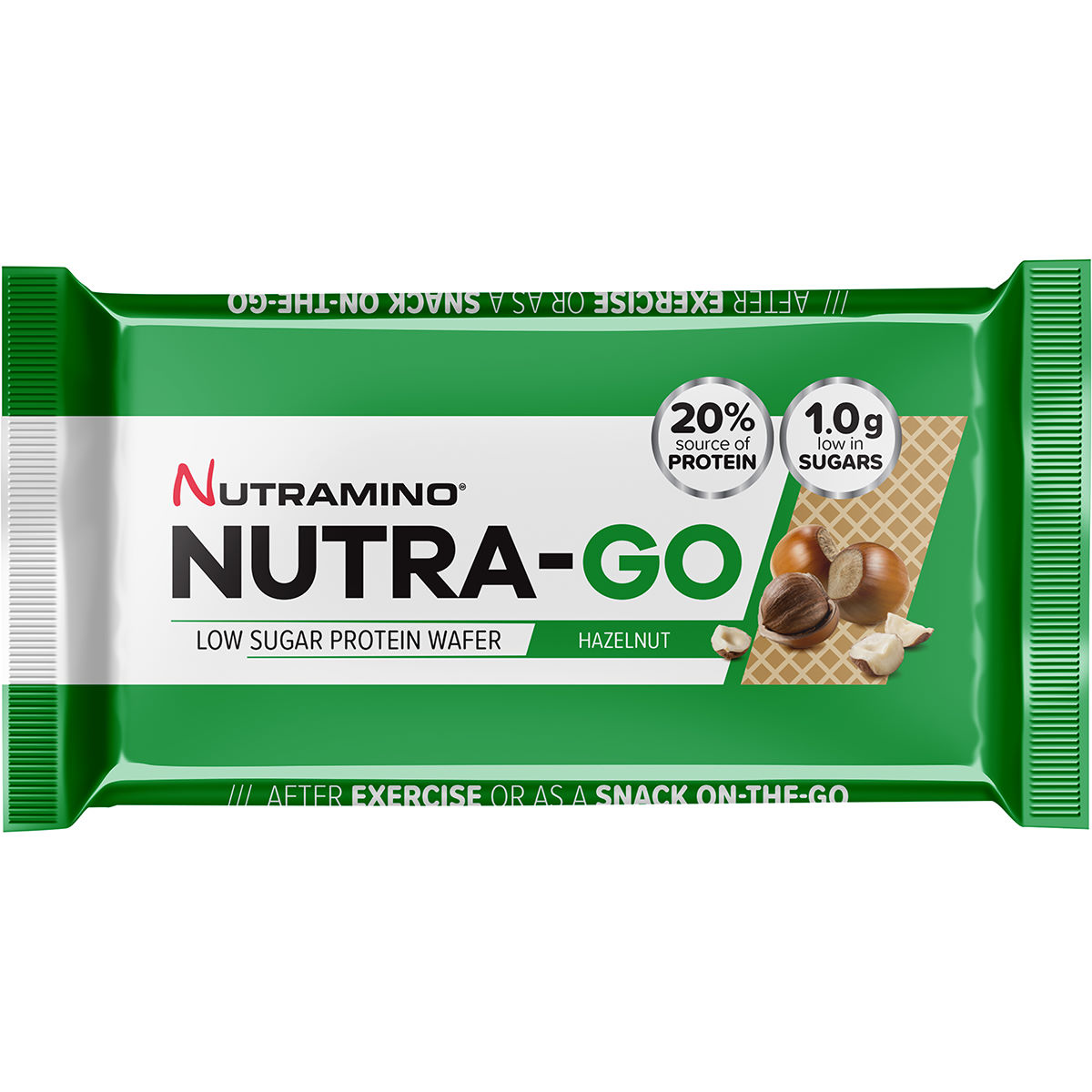 Nutramino Pro Wafer Square (12 x 39g) - Barritas