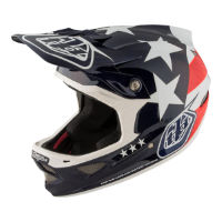 picture of Troy Lee Designs D3 Carbon MIPS Helmet - Freedom Blue
