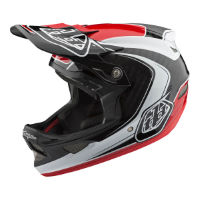picture of Troy Lee Designs D3 Carbon MIPS Helmet - Mirage Red