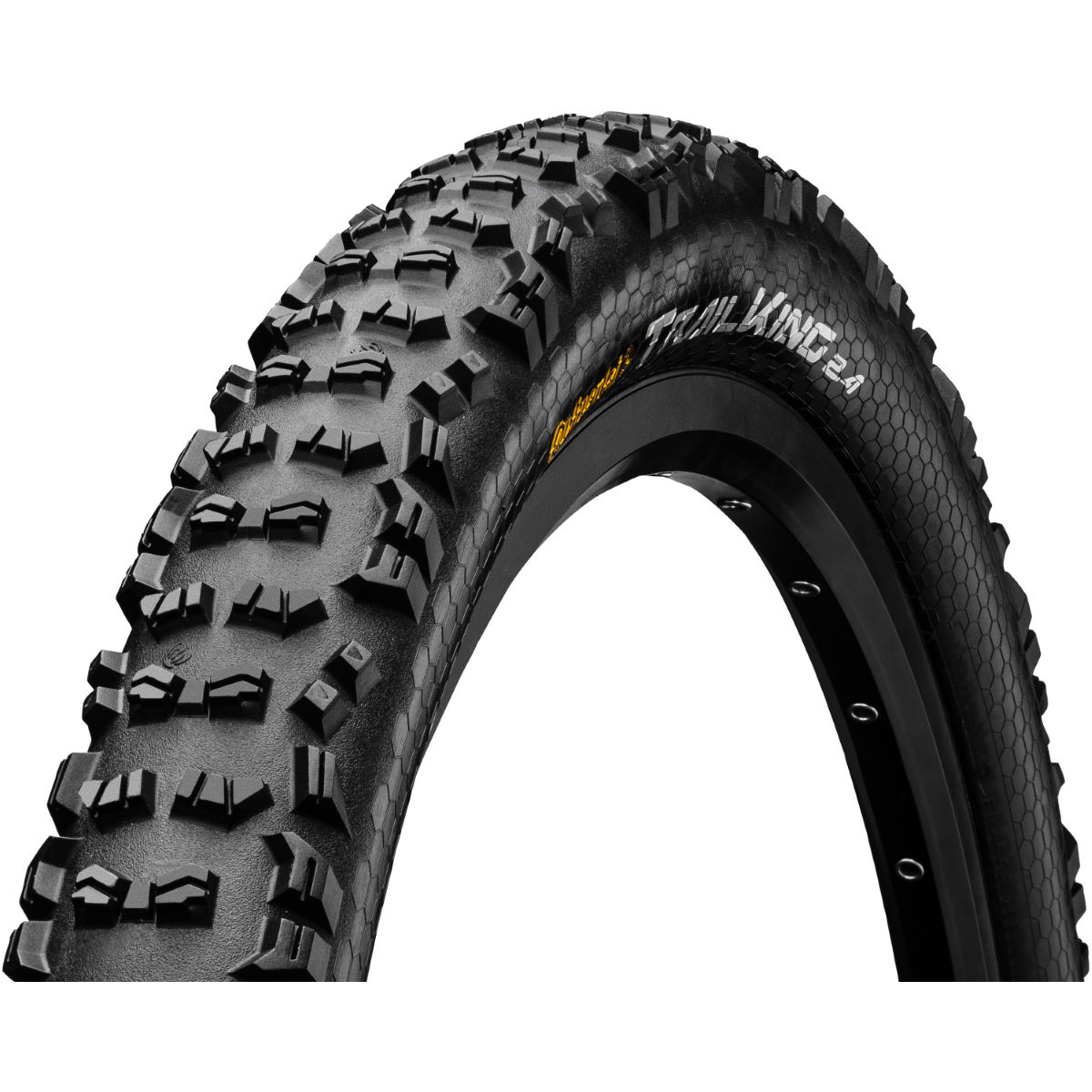 Pneu VTT Continental Trail King (souple, Protection Apex, 2018) - Noir
