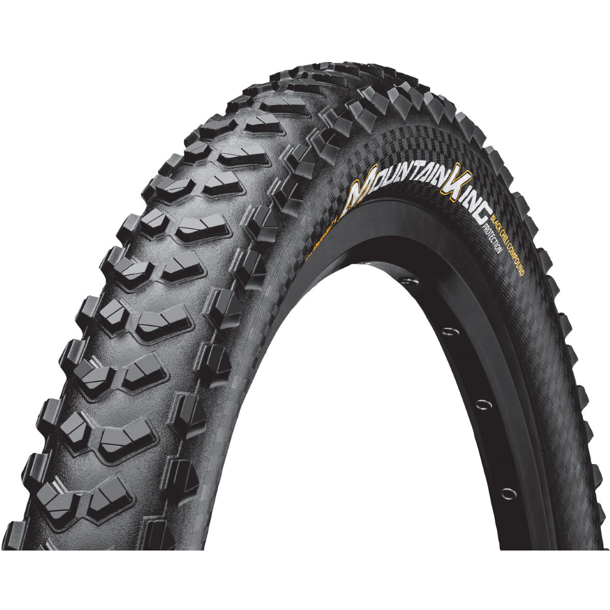 Pneu VTT Continental Mountain King (souple, ProTection, 2018) - Noir