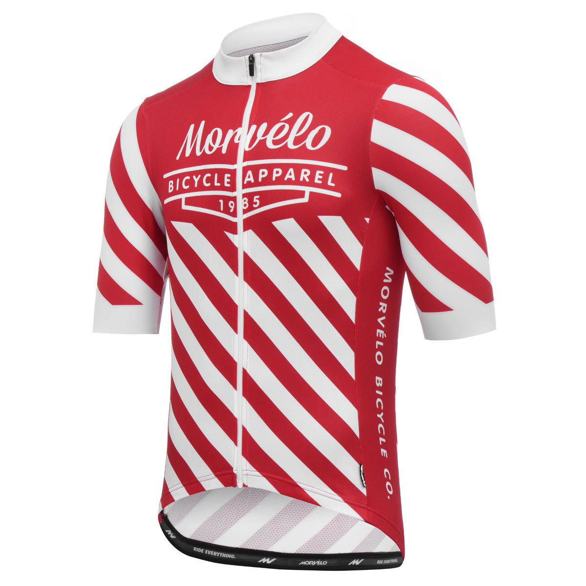 Maillot Morvelo 10 Year Celebration 85 - S Rouge/Blanc Maillots
