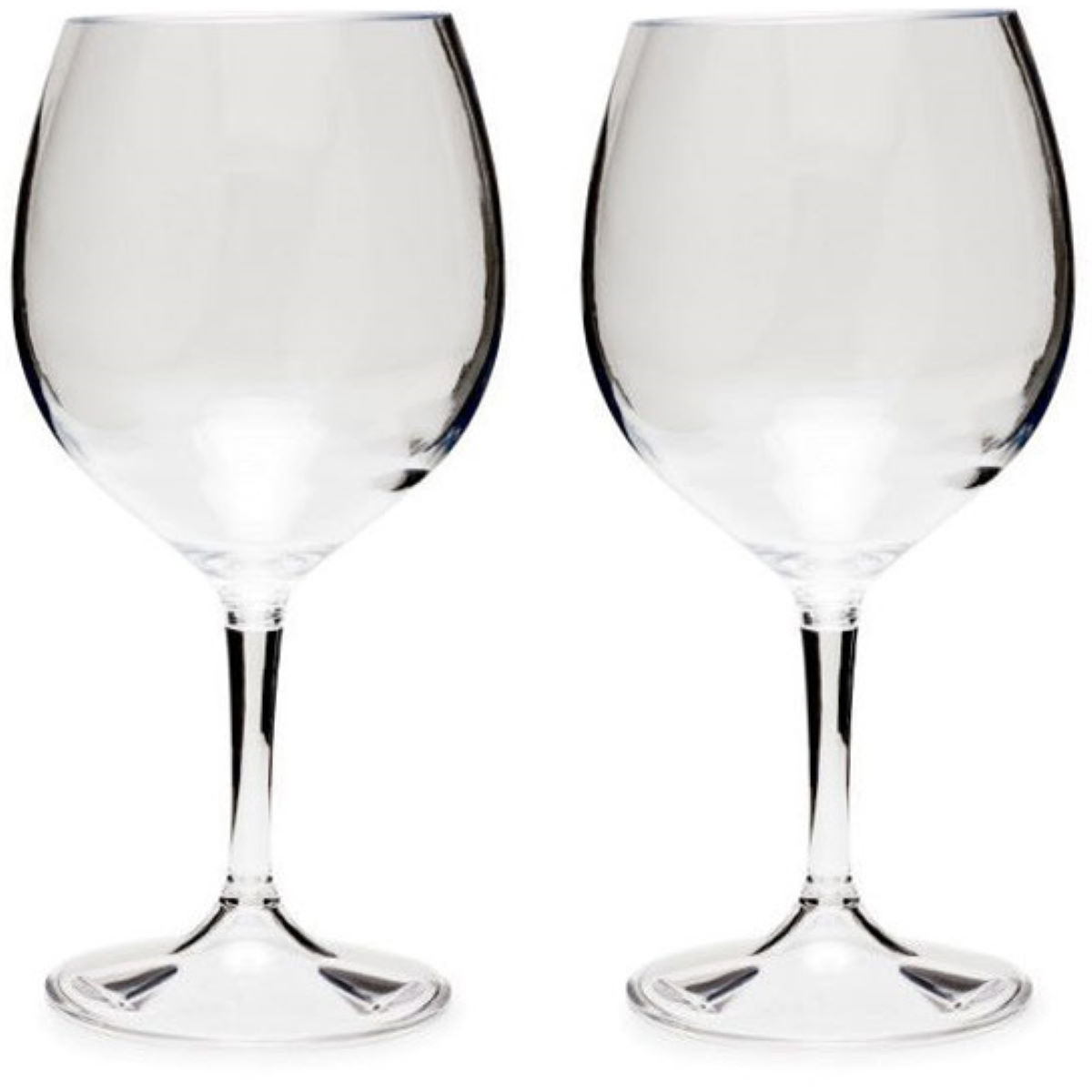 GSI Outdoors Nesting Red Wine Glass Set - Vajilla