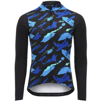 dhb Blok Long Sleeve Jersey - Tiger Camo