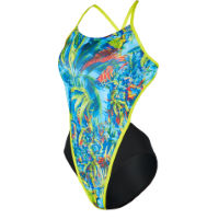 MP Womens Oasis Open Back Swimsuit