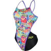 MP Womens Riviera Open Back Swimsuit
