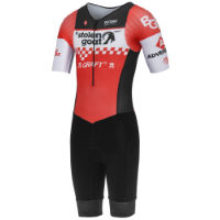 Stolen Goat Race Team Red Tri-Suit Sleeves