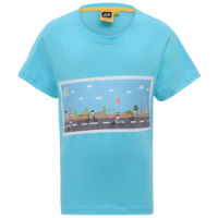 Le Coq Sportif Carte Graphic Kids T-Shirt