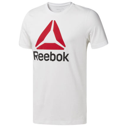 Reebok Stacked Short Sleeve Tee