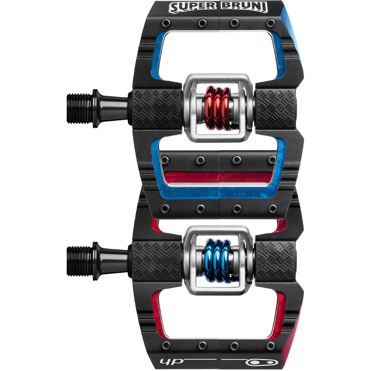 Crank Brothers Mallet DH Loic Bruni Edition Pedals - Pedales automáticos