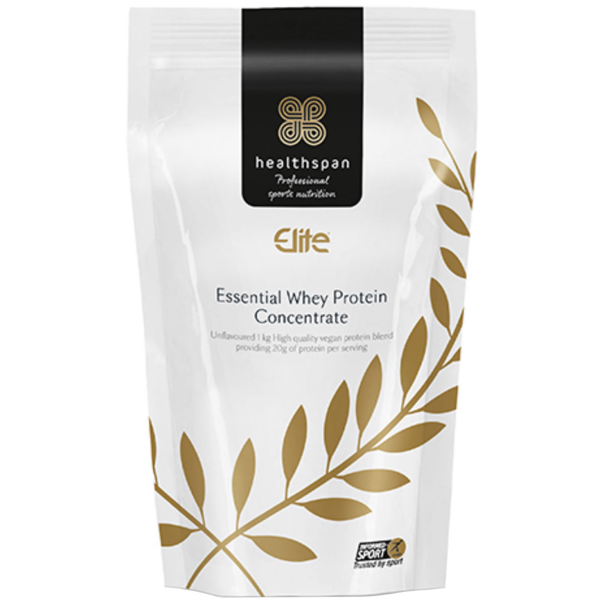 Healthspan Elite Essential Whey Protein Concentrate (1kg) -