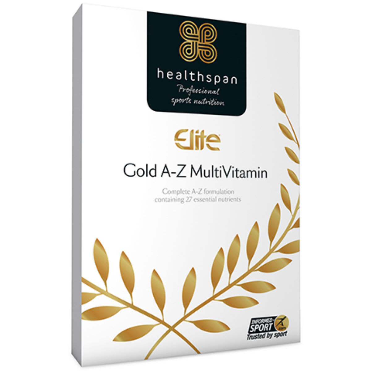 Healthspan Elite MultiVitamin Gold A-Z (120 Tabs) - Multivitaminas