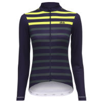 dhb Classic Womens Long Sleeve Jersey - Stripe