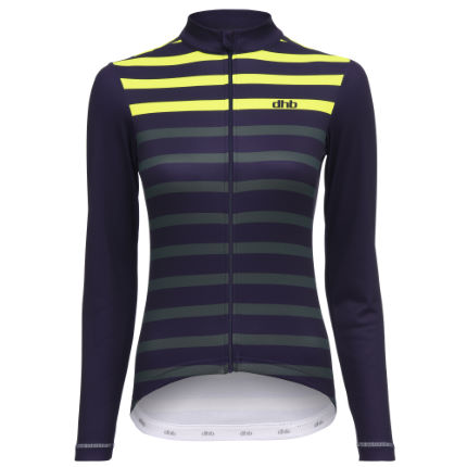 dhb Classic Women's Long Sleeve Jersey - Stripe