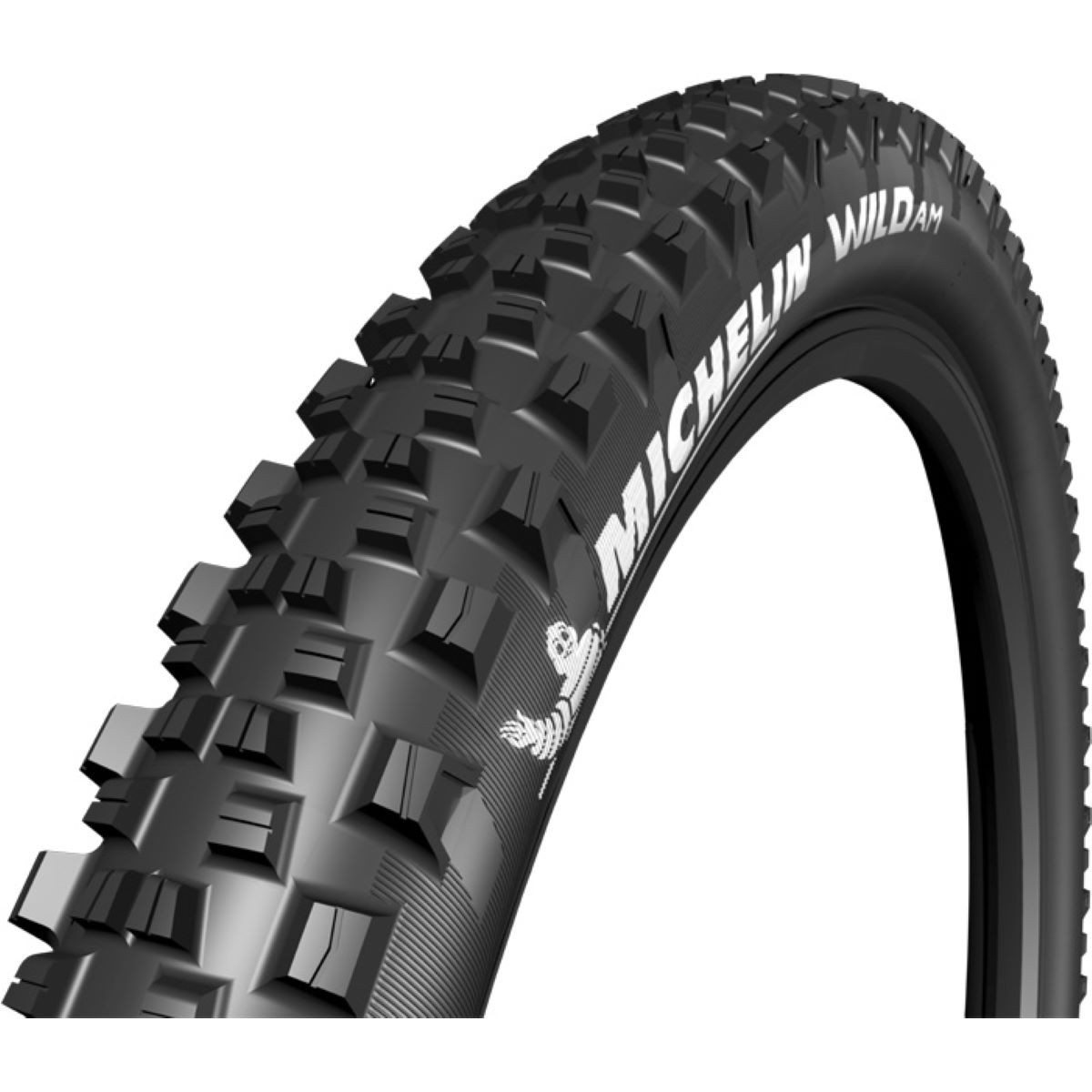Pneu VTT Michelin Wild AM Performance TLR - 2.8' 27.5' Noir Pneus
