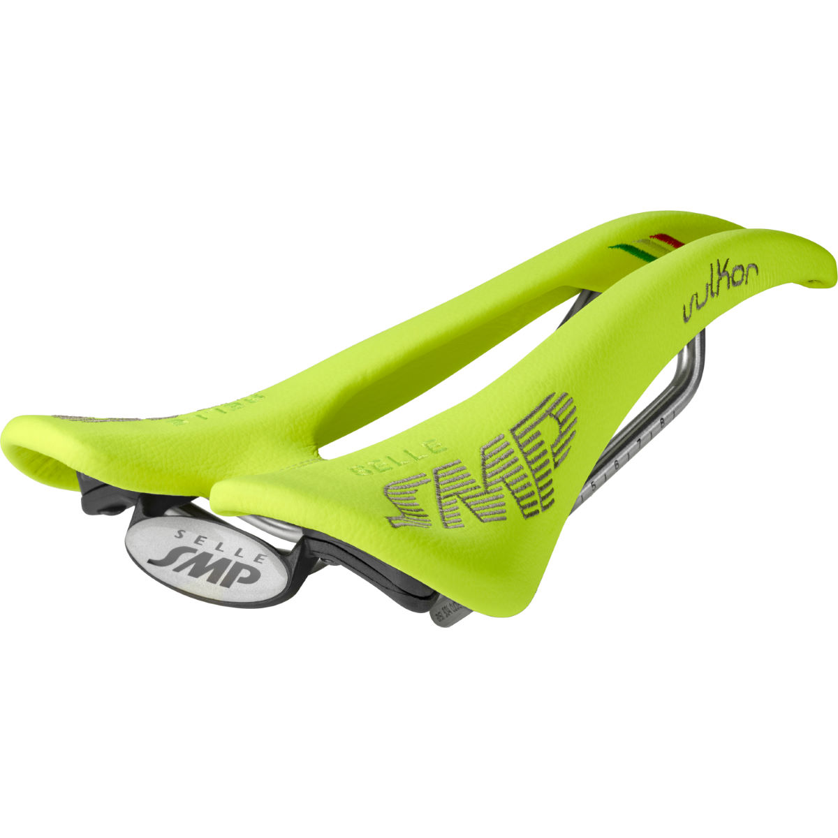 Selle Selle SMP Vulkor - 266 x 136mm Jaune fluo Selles