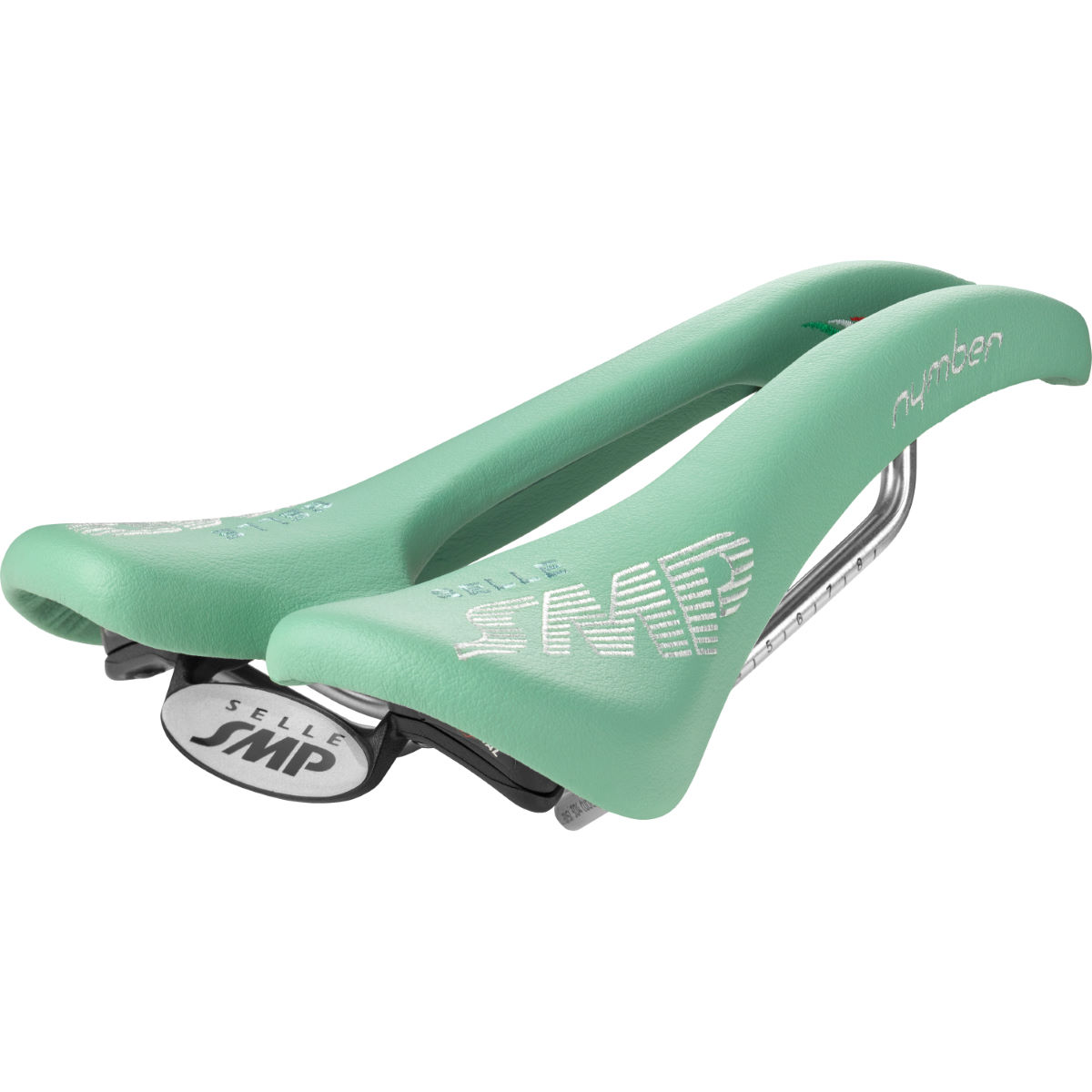 Selle Selle SMP Nymber - 267 x 139mm Bianchi Green Selles