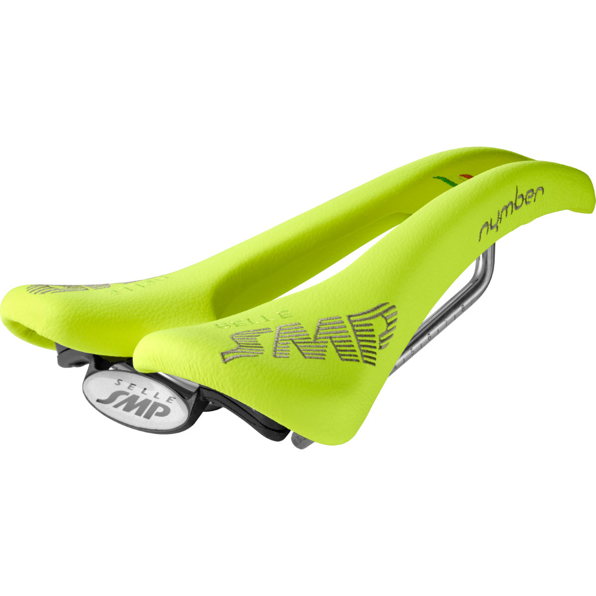 Selle Selle SMP Nymber - 267 x 139mm Jaune fluo Selles performance