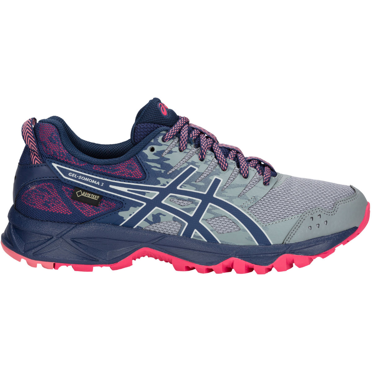 Asics Women's Gel Sonoma 3 GTX Shoes - Zapatillas de trail running