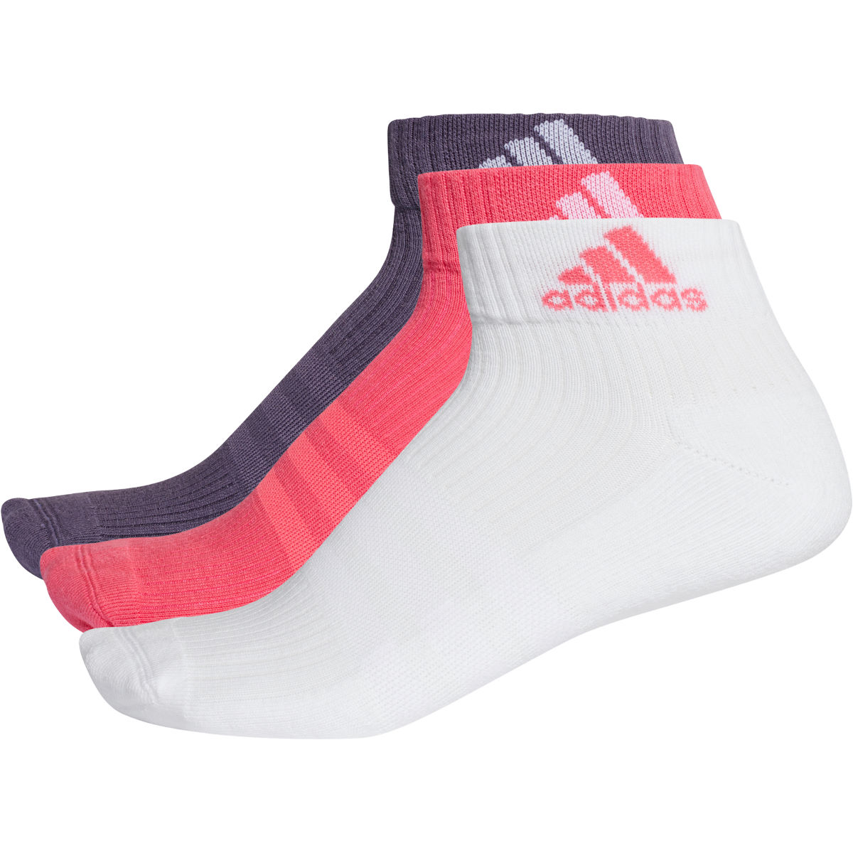 adidas 3S Performance Ankle 3pk - Calcetines para correr