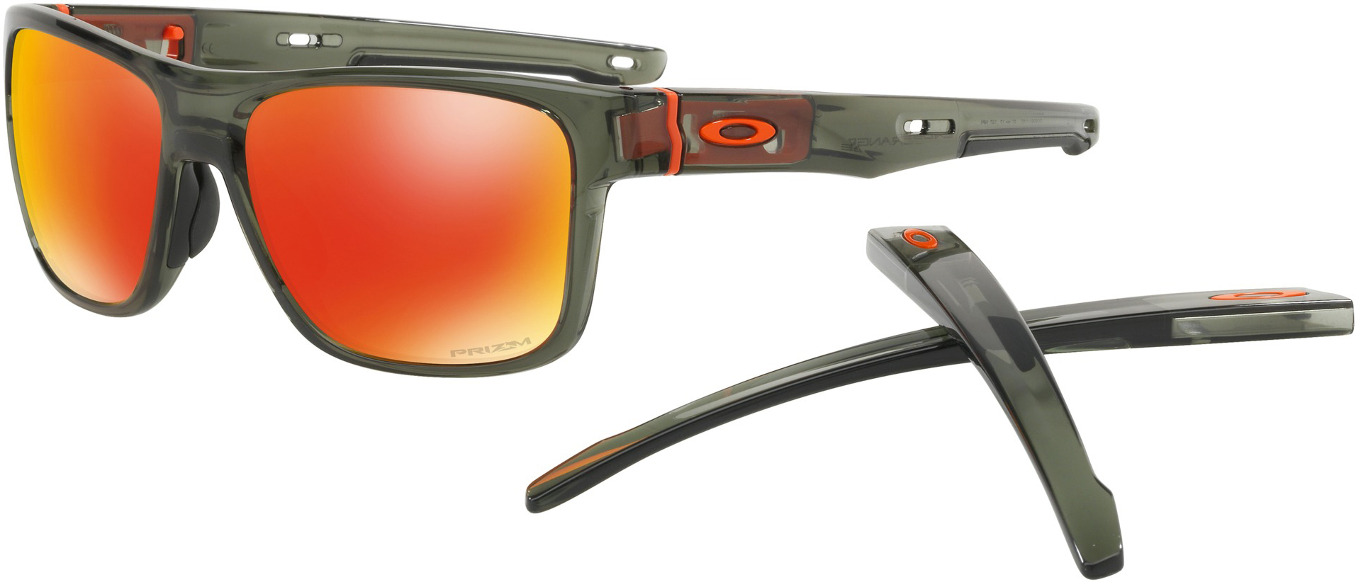 ONE SIZE Oakley Crossrange XL -black ink/prizm road pmha2GV