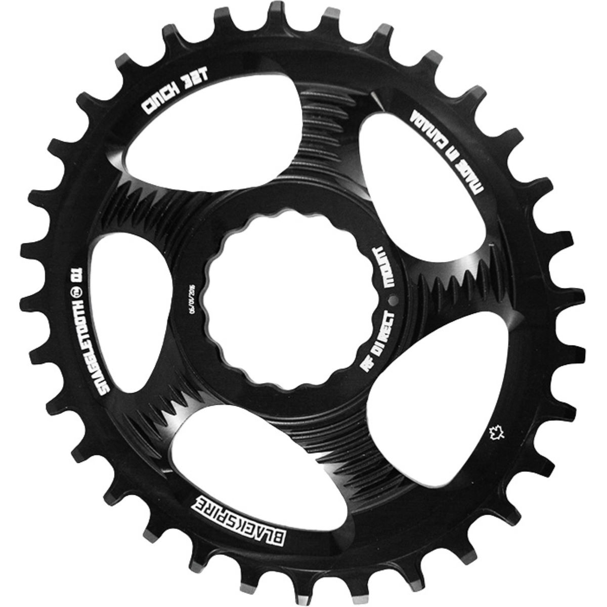 Blackspire Snaggletooth Oval Cinch Chainring - Platos