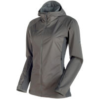 Mammut Womens Keiko Light SO Hooded Jacket