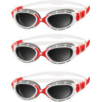Zoggs Predator Flex 2.0 Polarised Goggles Bundle of Thre