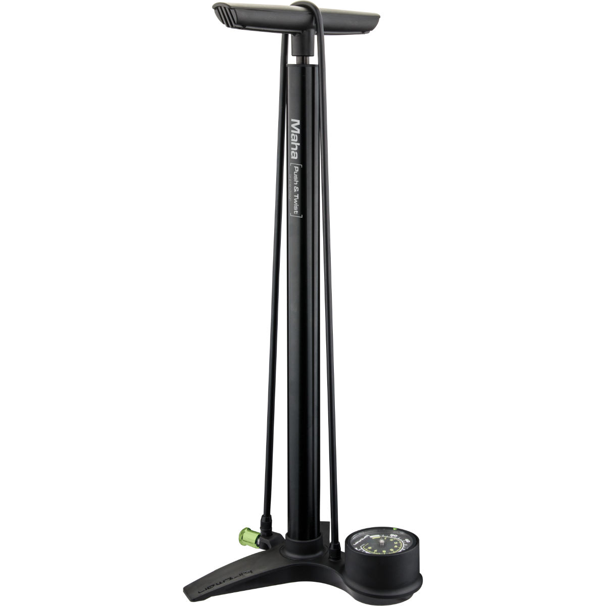 Birzman Maha Push & Twist MTB II Floor Pump - Bombas de pie