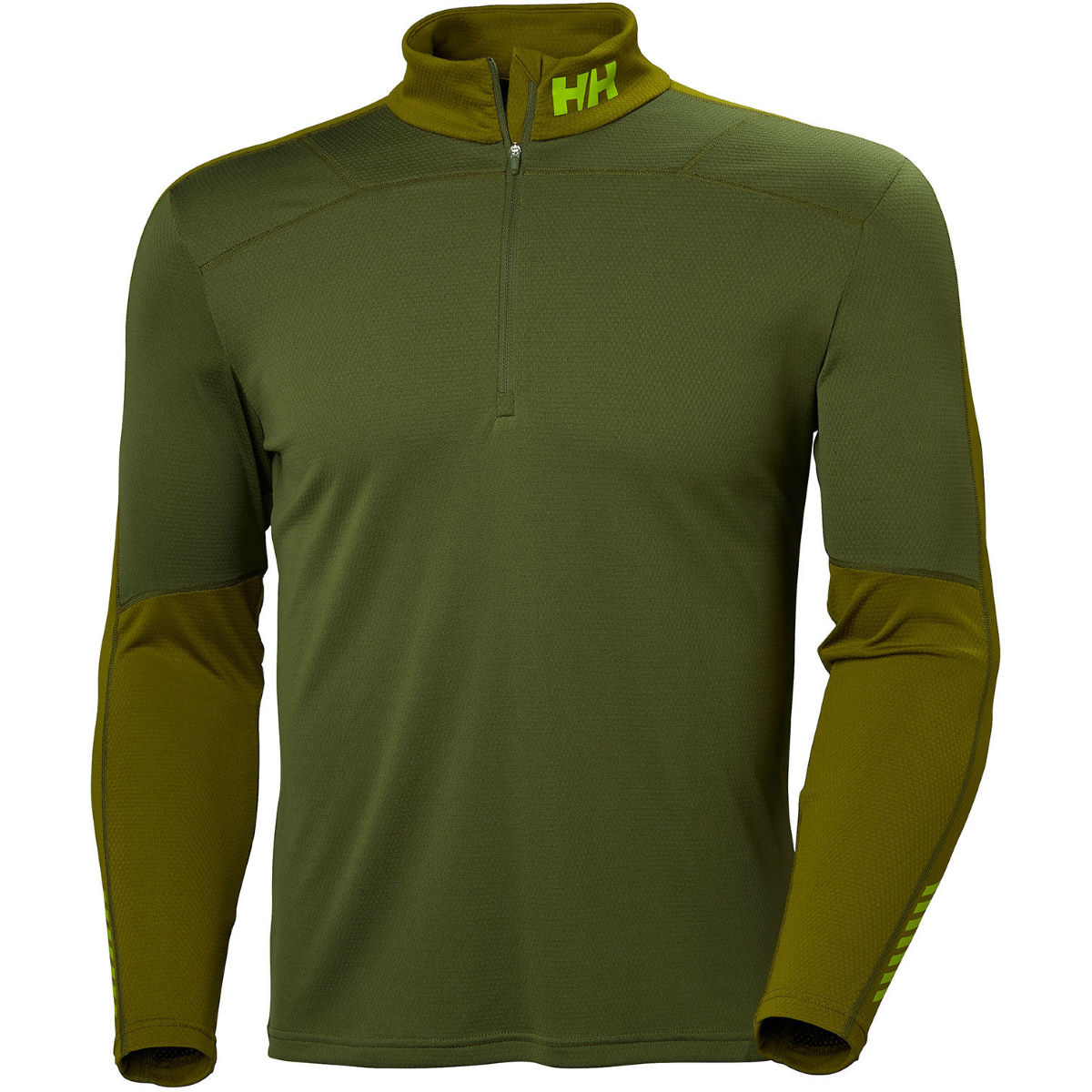 Helly Hansen Lifa Active 1/2 Zip Base Layer Black M - Camisetas interiores