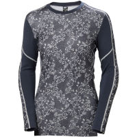 Helly Hansen Womens Lifa Merino Graphic Crew Base Layer