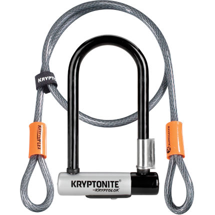 Kryptonite Mini 7 U-Lock and Kryptoflex Cable