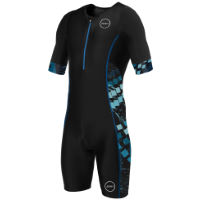Body uomo da triathlon Zone3 Activate+ (manica corta)