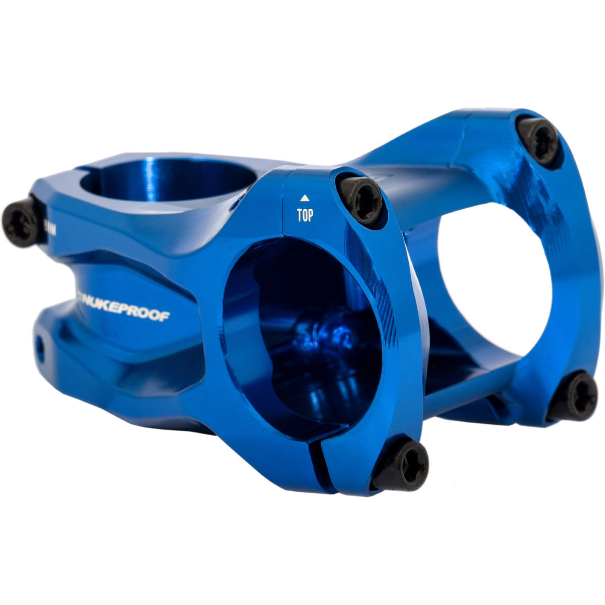 Potence Nukeproof Horizon - 35mm x 50mm Bleu Potences