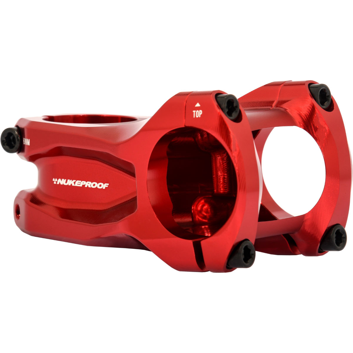 Potence Nukeproof Horizon - 31.8mm x 60mm Rouge Potences