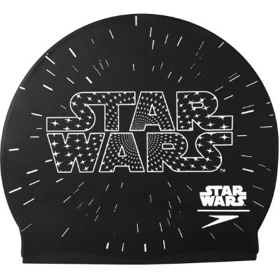 speedo-star-wars-logo-junior-cap-badekappen