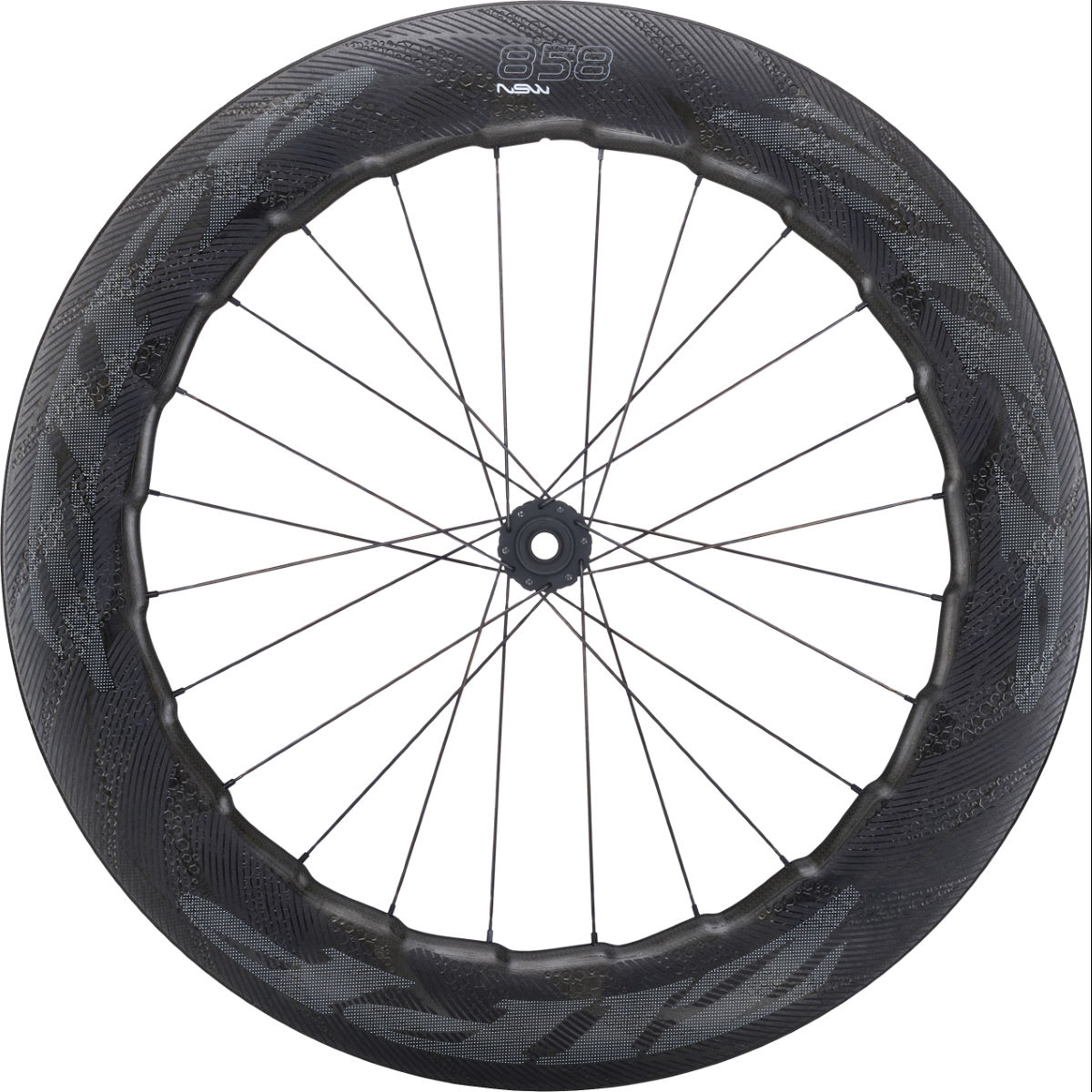 Zipp 858 NSW Carbon Clincher Centre Lock DB Front Wheel   Performance Wheels