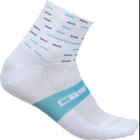 Castelli Womens Team Sky Rosso Corsa Socks