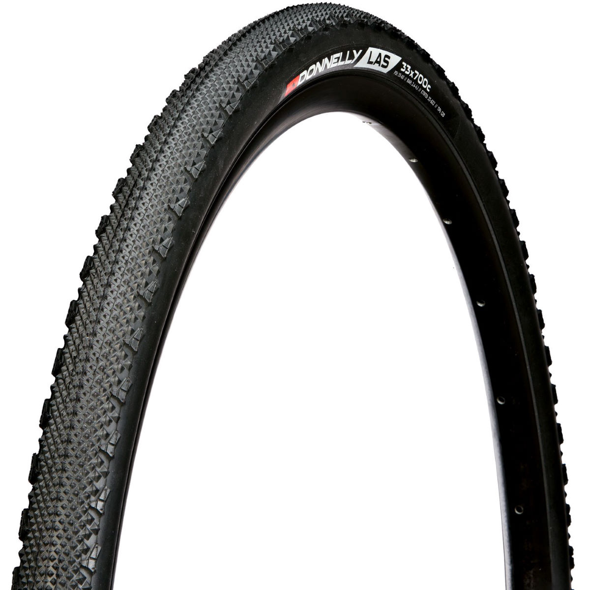 Donnelly LAS 120TPI SC CX Folding Tyre - Cubiertas