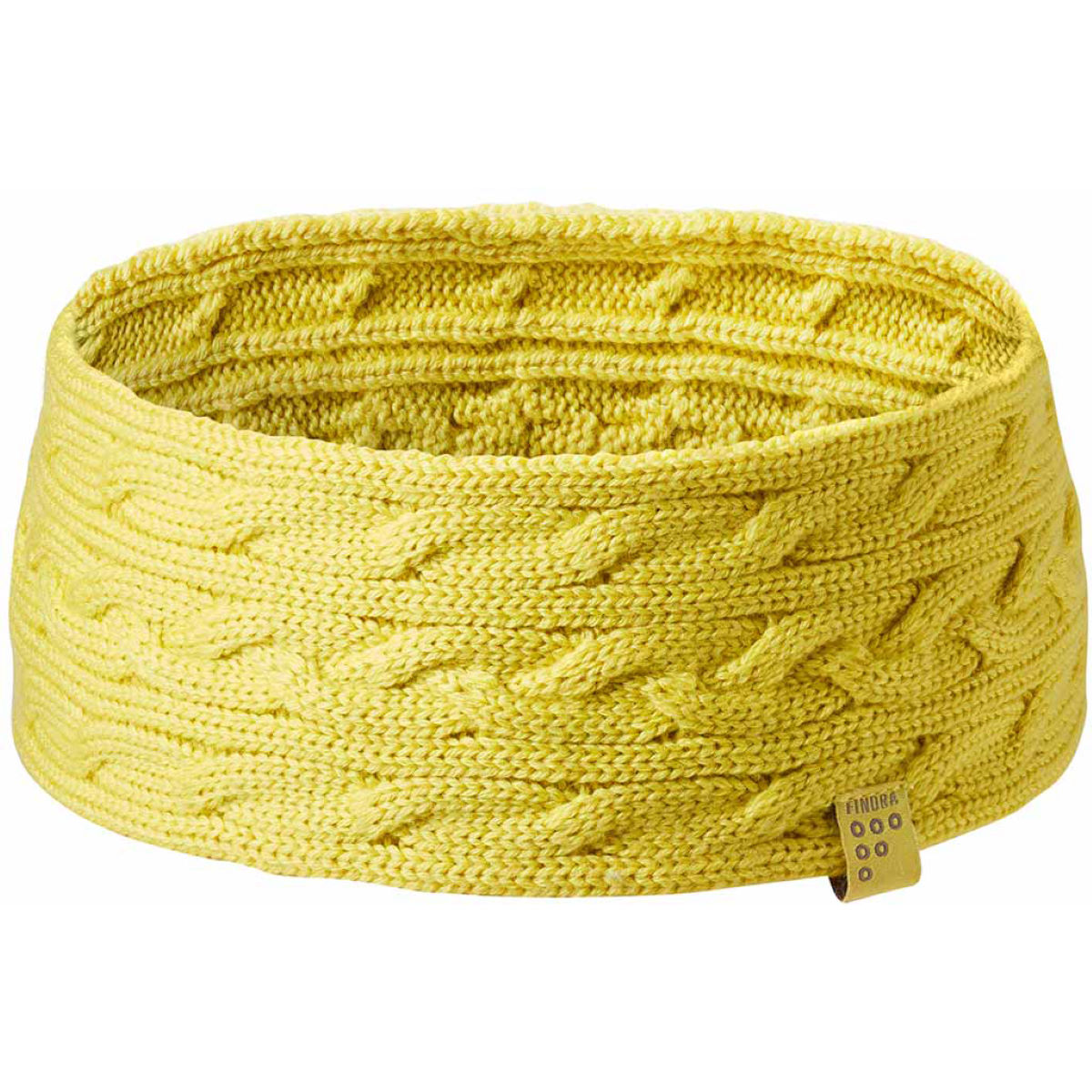FINDRA Betty Merino Cable Knit Head Band - Cintas para la cabeza