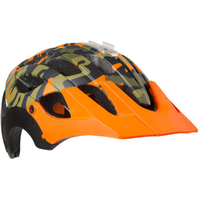 Lazer Revolution Camo Helmet - Cascos para MTB Camo Flash Orange L  (58-61)