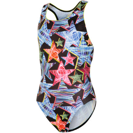 Maru Girl's Supernova Rave Back Swimsuit