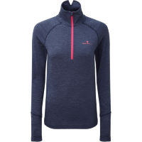 Ronhill Womens Stride Thermal Long Sleeve Zip Run Top