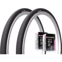 picture of Hutchinson 2 Overide Folding MTB Tyres & 2 Tubes
