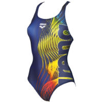 Arena Womens Shades One Piece Swim Pro Back Swimsuit
